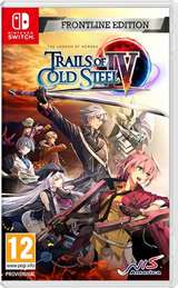 NIS Switch The Legend of Heroes: Trails of Cold Steel 4 - Frontline Ed.