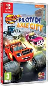 Outright Games Switch Blaze Mega Macchine Piloti di Axle City