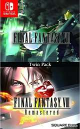 Square-Enix Switch Final Fantasy VII & Final Fantasy VIII Remastered Twin Pack