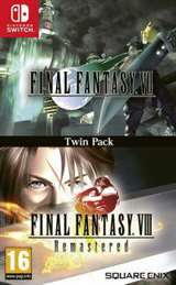 Square-Enix Switch Final Fantasy VII & Final Fantasy VIII Remast. Twin Pack EU