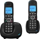 Alcatel Telefono Cordless Alcatel XL535 Duo Black
