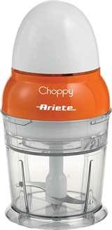 Ariete Ariete Tritatutto verticale 1836 Choppy 250ml 160W Bianco/Arancio