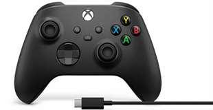 Microsoft Microsoft Xbox Serie X/S Controller Black + Cavo W10