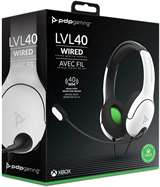 PDP XBOX Serie X PDP LVL40 Wired Gaming Headset White