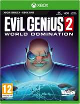 Sold Out XBOX Serie X Evil Genius 2:World Domination X/XONE